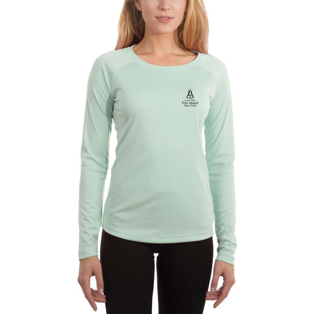 Coastal Classics Fire Island Women's UPF 50+ UV/Sun Protection Performance T-shirt