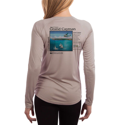 Island Classics Grand Cayman Women's UPF 50+ UV Sun Protection Long Sleeve T-shirt