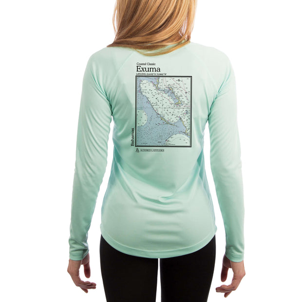 Coastal Classics Exuma Bahamas Women's UPF 50+ Long Sleeve T-shirt