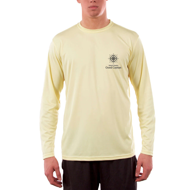 Island Classics Grand Cayman Men's UPF 50+ UV Sun Protection Long Sleeve T-Shirt