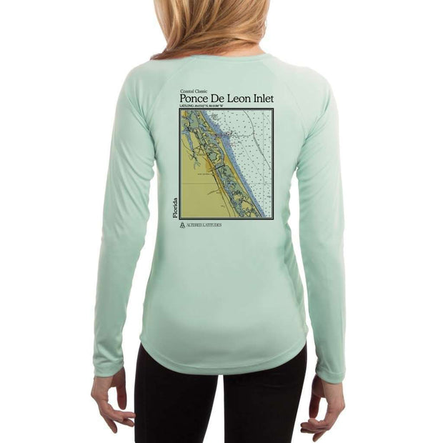 Coastal Classics Ponce De Leon Inlet Women's UPF 50+ UV/Sun Protection Performance T-shirt