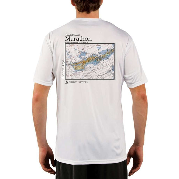Coastal Classics Marathon Mens Upf 5+ Uv/sun Protection Performance T-Shirt White / X-Small Shirt