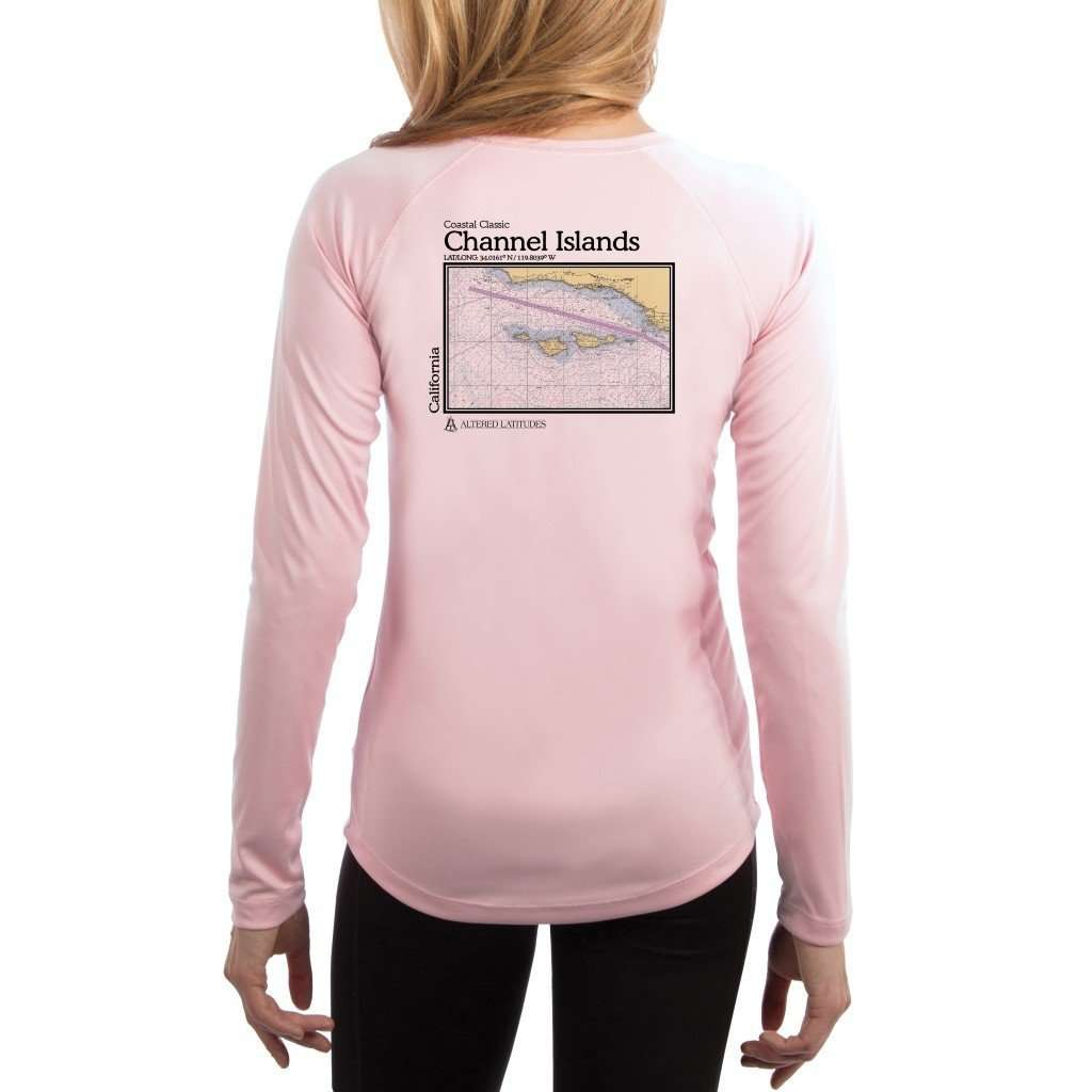 Coastal Classics Channel Islands Women's UPF 50+ UV/Sun Protection Performance T-shirt