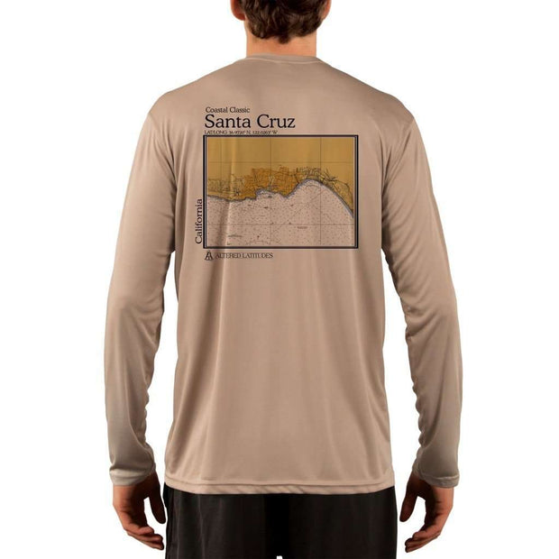 Coastal Classics Santa Cruz Men's UPF 50+ UV/Sun Protection Performance T-shirt