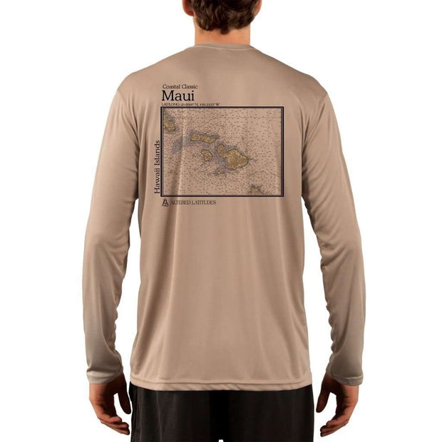 Coastal Classics Maui Mens Upf 5+ Uv/sun Protection Performance T-Shirt Tan / X-Small Shirt