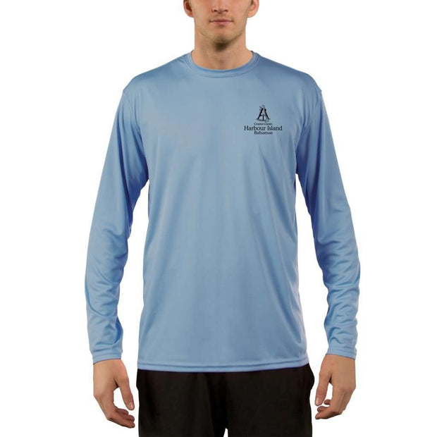 Coastal Classics Harbour Island Mens Upf 5+ Uv/sun Protection Performance T-Shirt Shirt