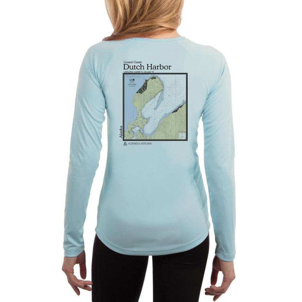 Coastal Classics Dutch Harbor Womens Upf 5+ Uv/sun Protection Performance T-Shirt Arctic Blue / X-Small Shirt