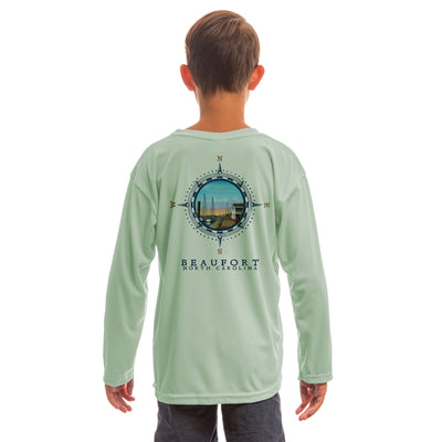 Compass Vintage Beaufort Youth UPF 50+ UV/Sun Protection Long Sleeve T-Shirt