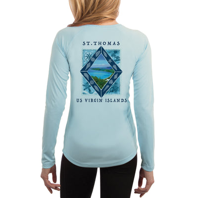 Coastal Quads St.Thomas Women's UPF 50+ Long Sleeve T-shirt