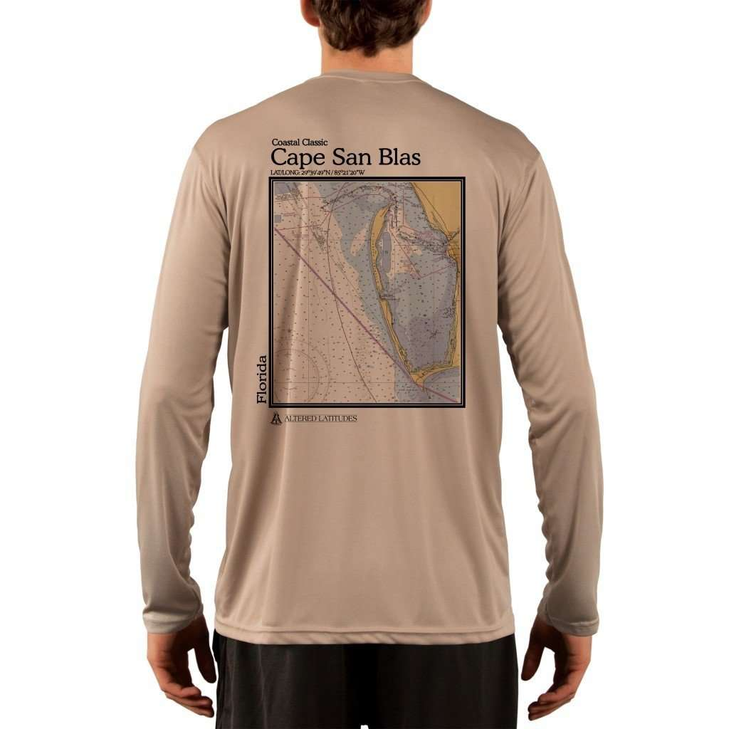 Coastal Classics Cape San Blas Mens Upf 50+ Uv/sun Protection Performance T-Shirt Tan / X-Small Shirt