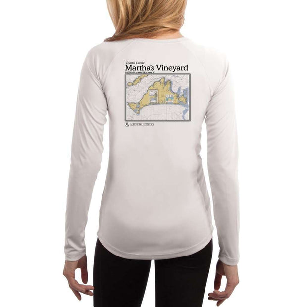 Coastal Classics Marthas Vineyard Womens Upf 5+ Uv/sun Protection Performance T-Shirt White / X-Small Shirt