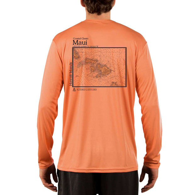 Coastal Classics Maui Men's UPF 50+ UV/Sun Protection Performance T-shirt