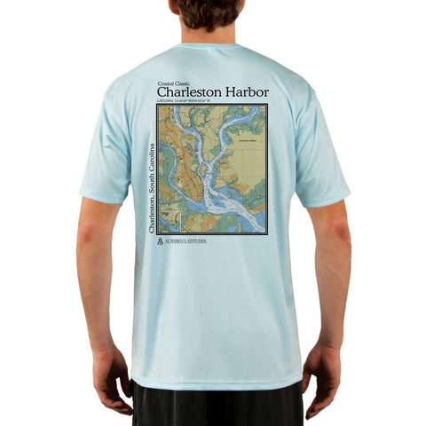 Coastal Classics Half Moon Bay Men's UPF 50+ UV/Sun Protection Performance T-shirt