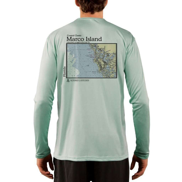 Coastal Classics Marco Island Men's UPF 50+ UV/Sun Protection Performance T-shirt - Altered Latitudes