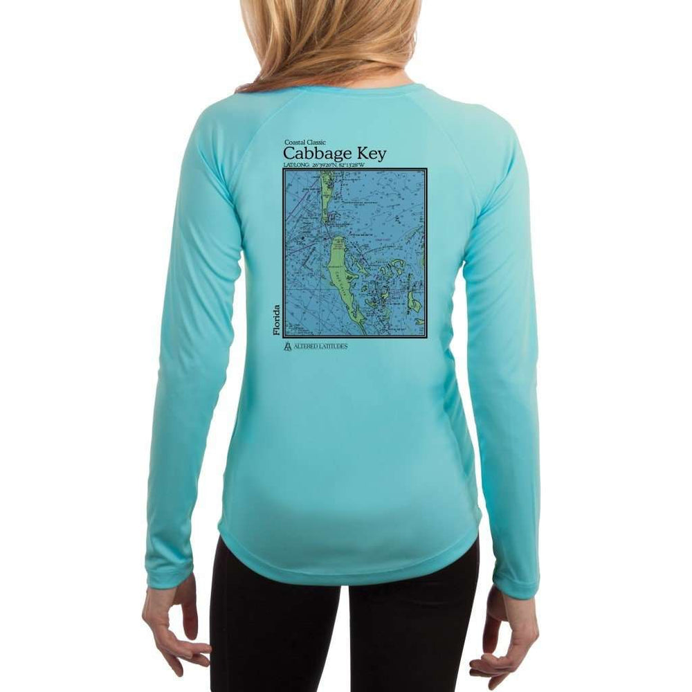 Coastal Classics Cabbage Key Womens Upf 5+ Uv/sun Protection Performance T-Shirt Water Blue / X-Small Shirt