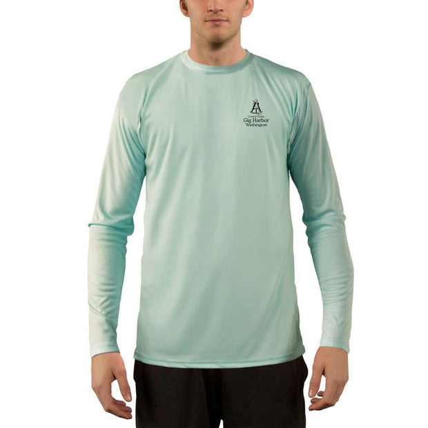 Coastal Classics Gig Harbor Men's UPF 50+ UV/Sun Protection Performance T-shirt - Altered Latitudes