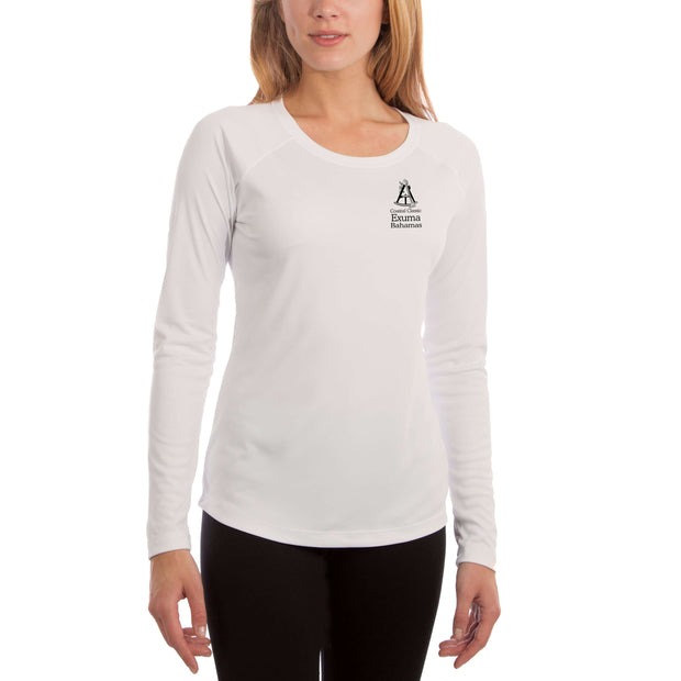 Coastal Classics Exuma Bahamas Women's UPF 50+ Long Sleeve T-shirt - Altered Latitudes