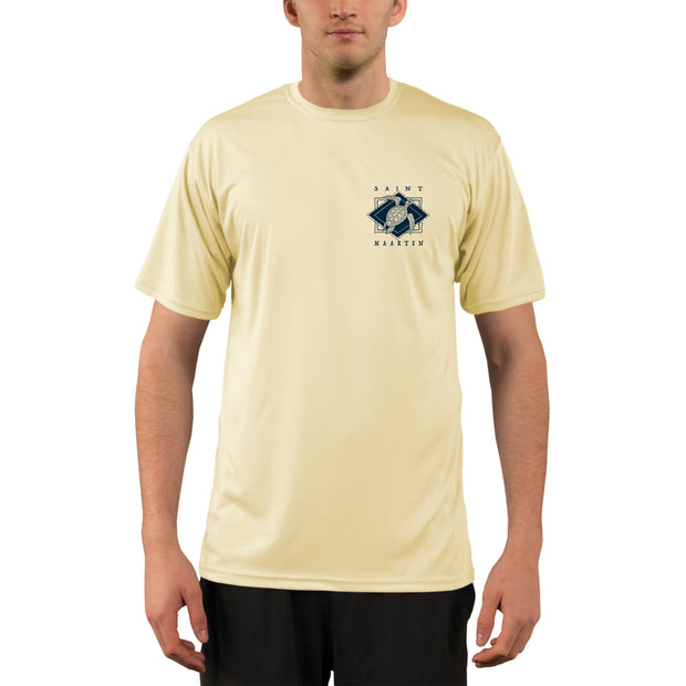Coastal Quads Saint Maarten Men's UPF 50+ Short Sleeve T-shirt