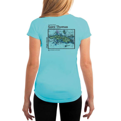 Coastal Classics Gig Harbor Women's UPF 50+ UV/Sun Protection Performance T-shirt