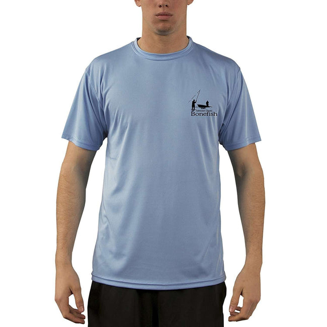 Altered Latitudes Saltwater Classic Bonefish Men's UPF 50+ Short Sleeve T-Shirt