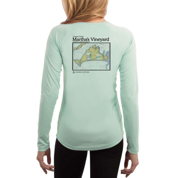 Coastal Classics Marthas Vineyard Womens Upf 5+ Uv/sun Protection Performance T-Shirt Seagrass / X-Small Shirt