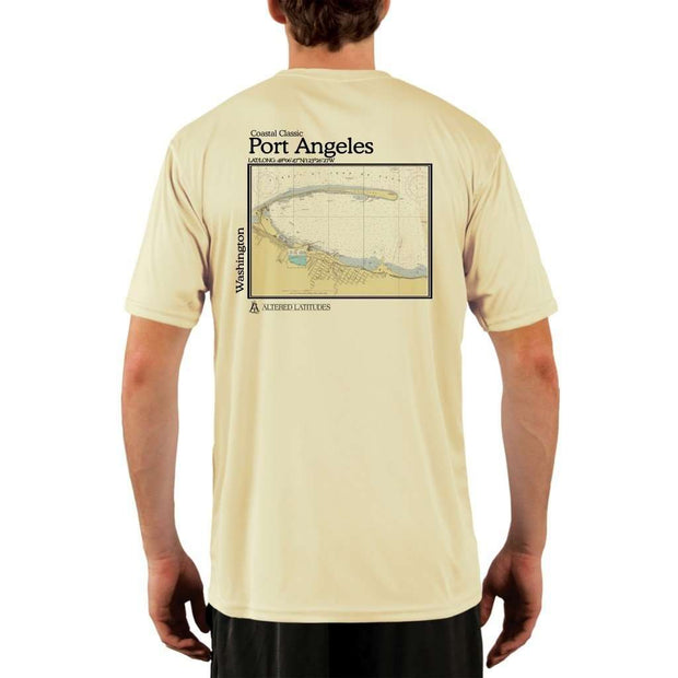 Coastal Classics Port Angeles Mens Upf 5+ Uv/sun Protection Performance T-Shirt Pale Yellow / X-Small Shirt