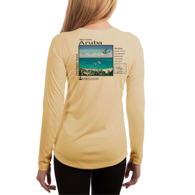 Island Classics Aruba Women's UPF 50+ UV Sun Protection Long Sleeve T-shirt