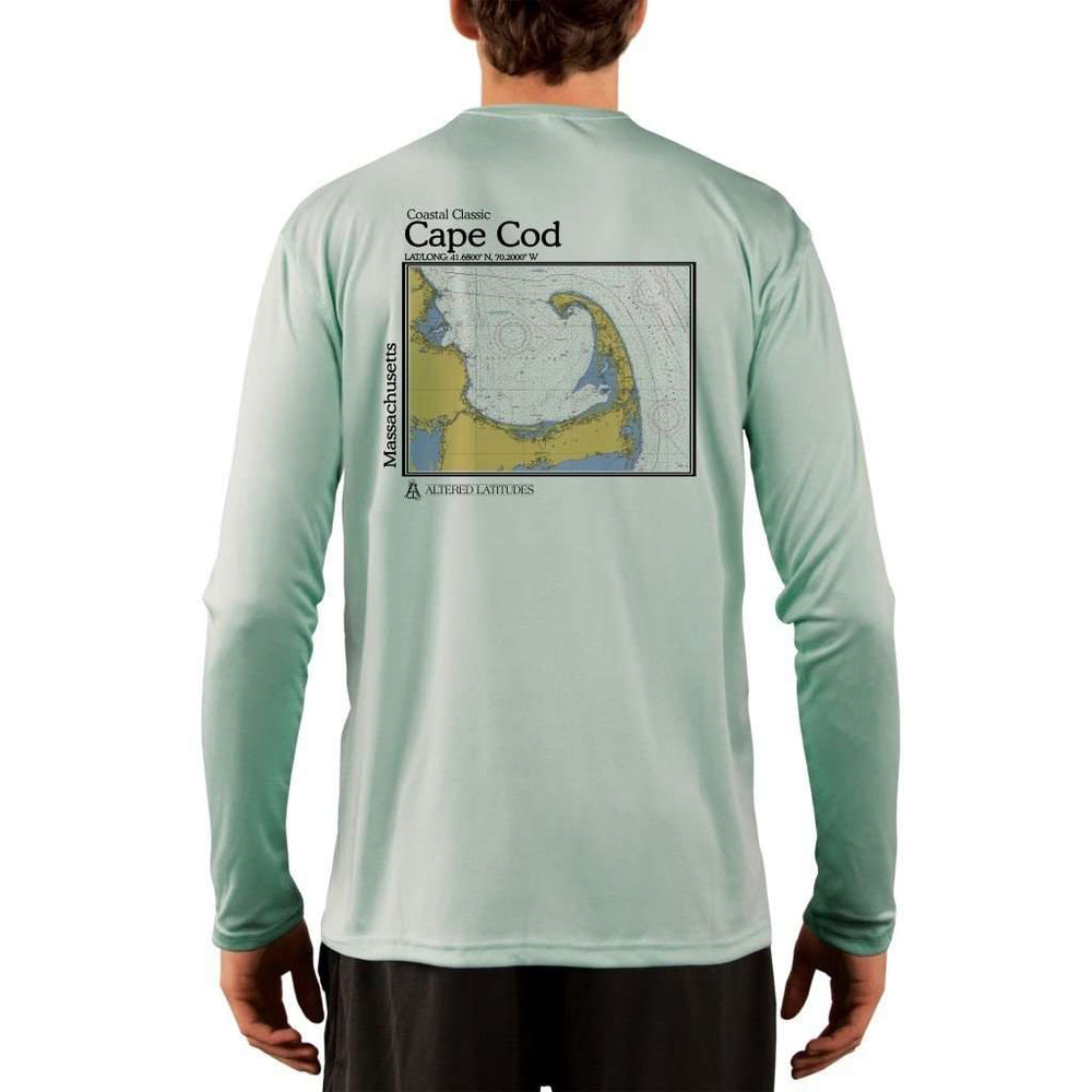 Coastal Classics Cape Cod Mens Upf 5+ Uv/sun Protection Performance T-Shirt Seagrass / X-Small Shirt