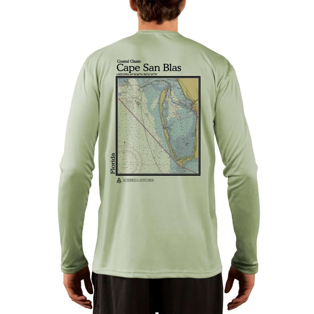 Coastal Classics Cape San Blas Mens Upf 50+ Uv/sun Protection Performance T-Shirt Shirt