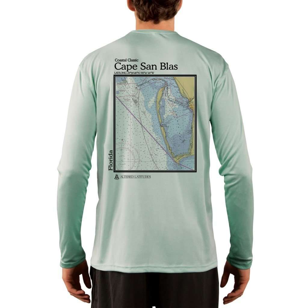 Coastal Classics Cape San Blas Mens Upf 50+ Uv/sun Protection Performance T-Shirt Seagrass / X-Small Shirt
