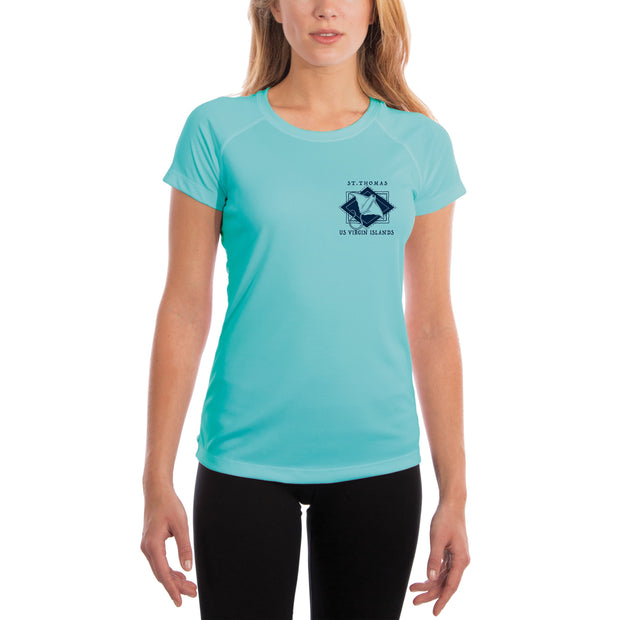 Coastal Quads St.Thomas Women's UPF 50+ Short Sleeve T-shirt