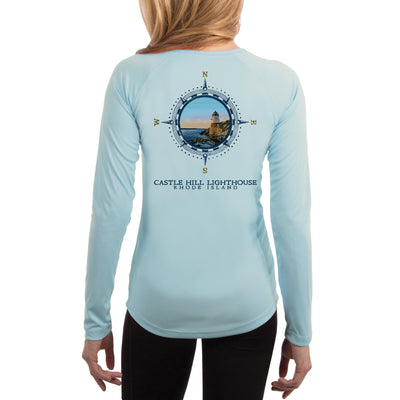 Compass Vintage Castle Hill Women's UPF 50+ Long Sleeve T-shirt