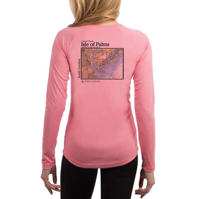Coastal Classics Isle Of Palms Womens Upf 5+ Uv/sun Protection Performance T-Shirt Pretty Pink / X-Small Shirt