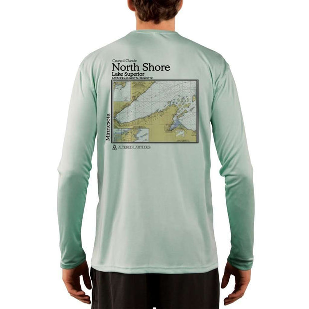 Coastal Classics North Shore Mens Upf 5+ Uv/sun Protection Performance T-Shirt Seagrass / X-Small Shirt