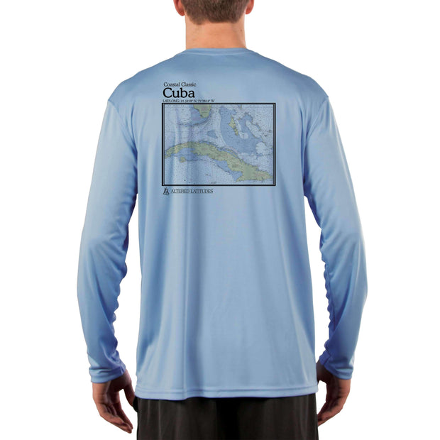 Coastal Classics Cuba Men's UPF 50+ Long Sleeve T-Shirt