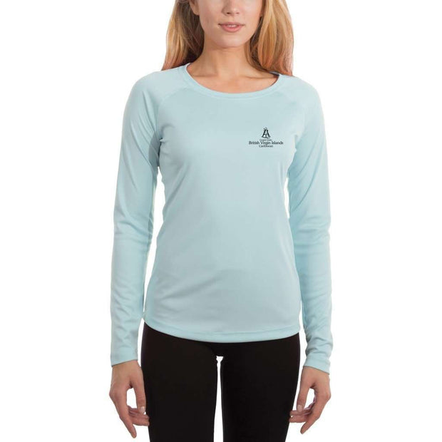 Coastal Classics British Virgin Islands Women's UPF 50+ UV/Sun Protection Performance T-shirt