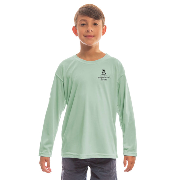 Coastal Classics Singer Island Youth UPF 50+ UV/Sun Protection Long Sleeve T-Shirt