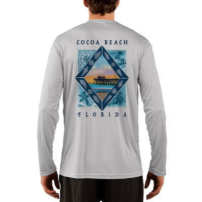 Coastal Quads Cocoa Beach Men's UPF 50+ Long Sleeve T-Shirt