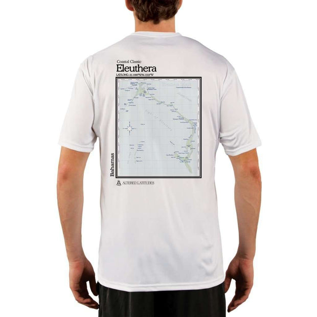Coastal Classics Eleuthera Mens Upf 5+ Uv/sun Protection Performance T-Shirt White / X-Small Shirt