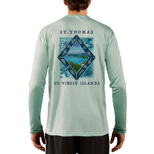 Coastal Quads St.Thomas Men's UPF 50+ Long Sleeve T-Shirt