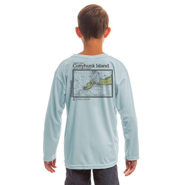 Coastal Classics Cuttyhunk Youth UPF 50+ UV/Sun Protection Long Sleeve T-Shirt - Altered Latitudes