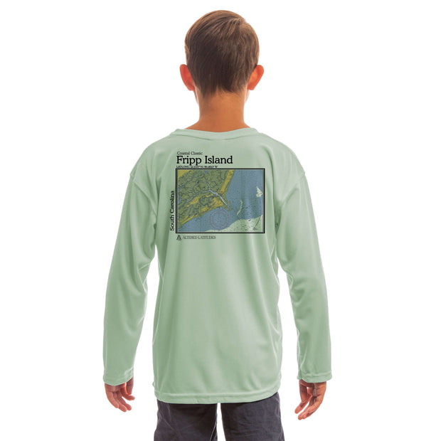 Coastal Classics Fripp Island Youth UPF 50+ UV/Sun Protection Long Sleeve T-Shirt