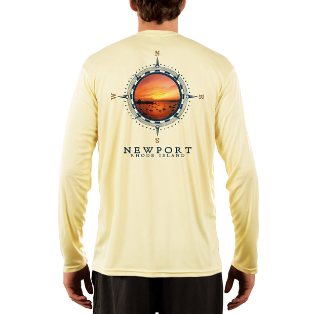 Compass Vintage Newport Men's UPF 50+ Long Sleeve T-Shirt