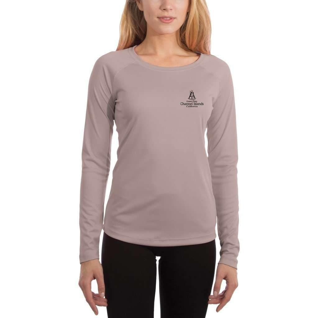 Coastal Classics Channel Islands Women's UPF 50+ UV/Sun Protection Performance T-shirt - Altered Latitudes