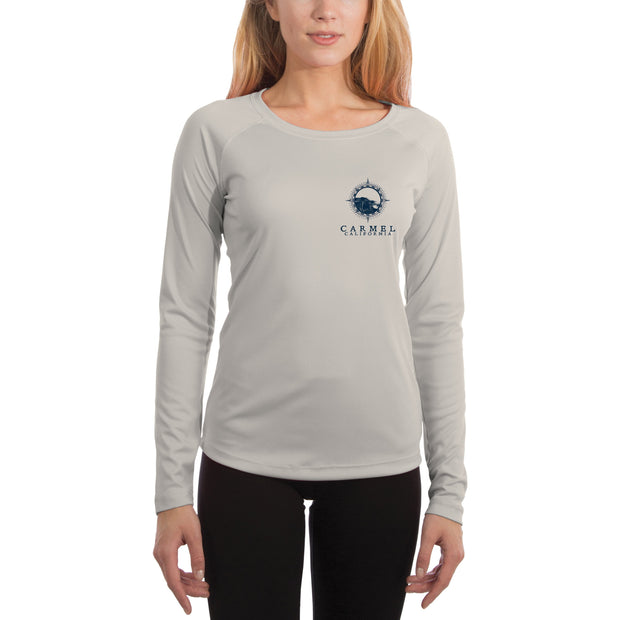 Compass Vintage Carmel Women's UPF 50+ Long Sleeve T-shirt