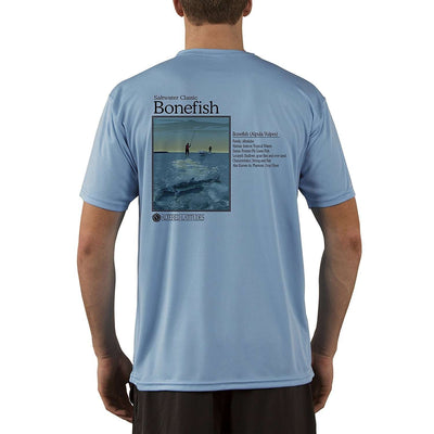 Altered Latitudes Saltwater Classic Bonefish Men's UPF 5+ Short Sleeve T-Shirt - Altered Latitudes