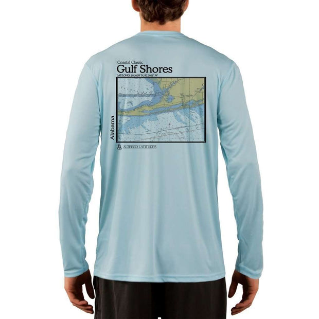 Coastal Classics Gulf Shores Men's UPF 50+ UV/Sun Protection Performance T-shirt - Altered Latitudes