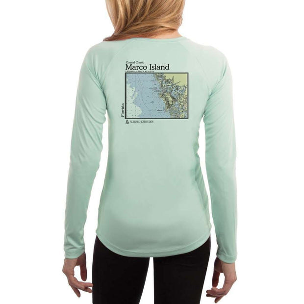 Coastal Classics Marco Island Womens Upf 5+ Uv/sun Protection Performance T-Shirt Seagrass / X-Small Shirt