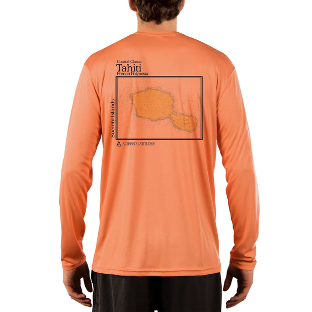 Coastal Classics Tahiti Men's UPF 50+ UV/Sun Protection Performance T-shirt