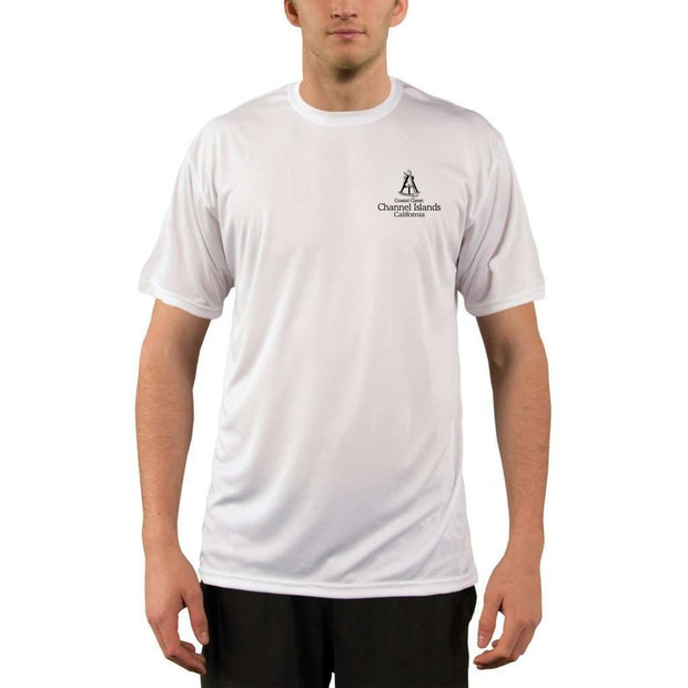 Coastal Classics Channel Islands Mens Upf 5+ Uv/sun Protection Performance T-Shirt Shirt